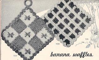 Easy Vintage Crochet Potholders Pattern