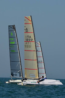 A Marina di Pietrasanta i catamarani UACC