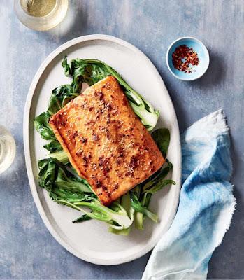 Instant Pot: Sesame Honey glaze Salmon Recipe
