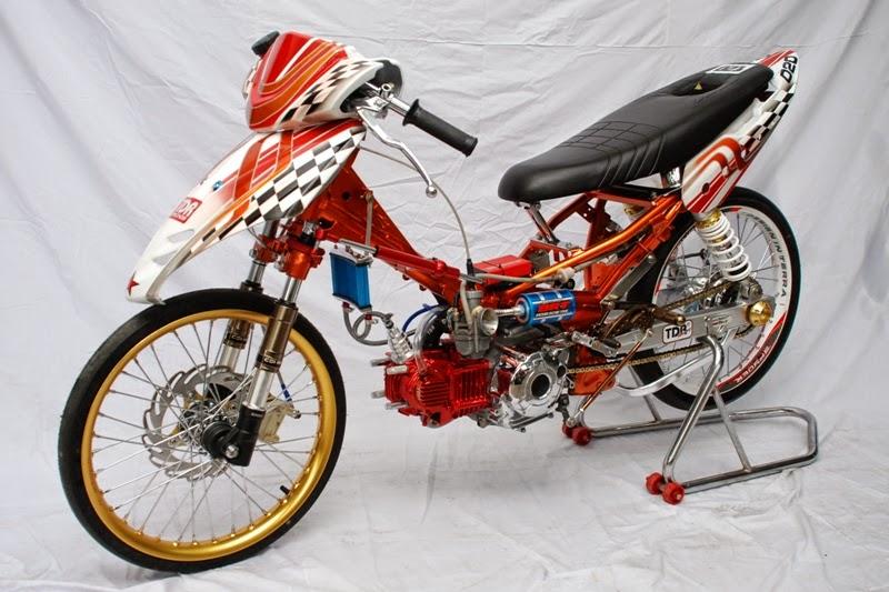 Modifikasi Motor Jupiter Z