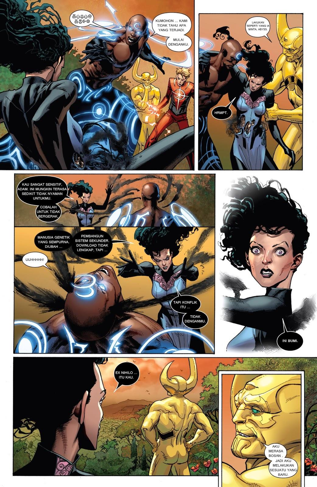komik amerika bahasa indonesia: avengers #9
