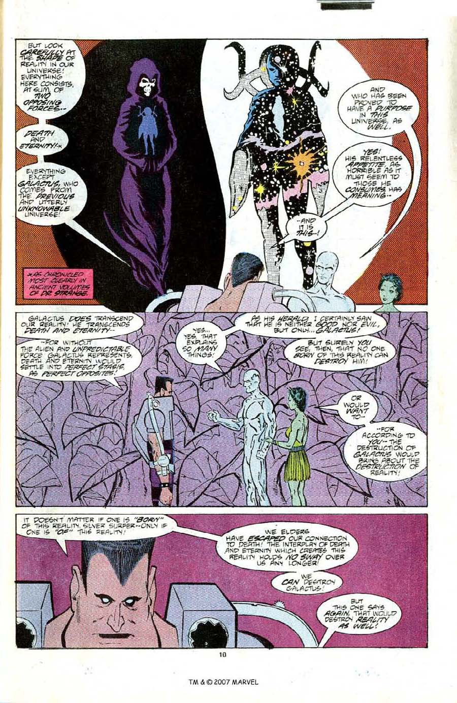 Read online Silver Surfer (1987) comic -  Issue #6 - 15