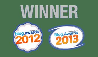 Thailand Blog Awards 2012-2013