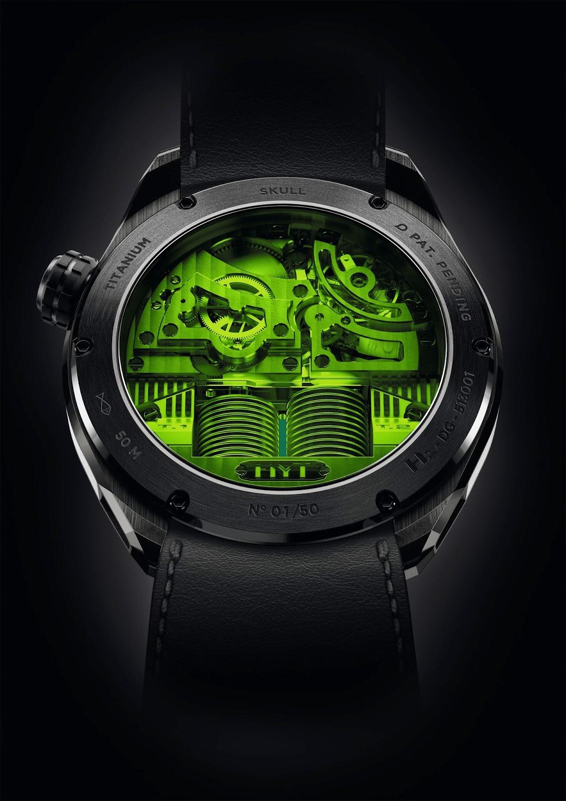 Hyt Skull Green Eye Pre Basel 2015B