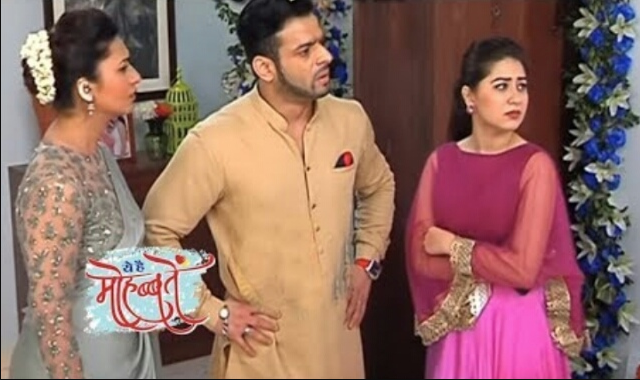Shocking Twist : Simmi-Param feeds poison to Raghav's daughter in Yeh Hai Mohabbatein