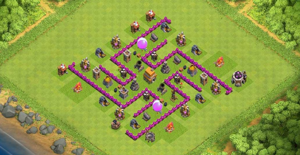 Base Coc Th 6 Labirin 4