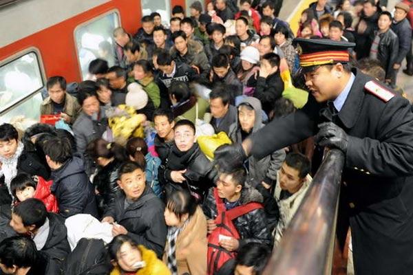 Mudik di Tiongkok Terbesar Sedunia