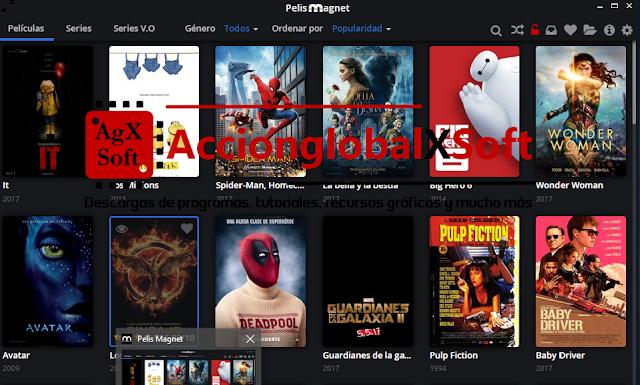 PelisMagnet v0.7 + Portable | Ver pelis online en español de España y descargar en HD via torrent