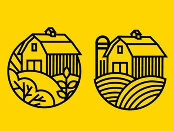 Inspirasi Desain Logo Monoline 2017 - Logo WIP