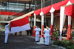Otoritas Jasa Keuangan Jember Upacara Memperingati Hari Proklamasi ke-71 Republik Indonesia