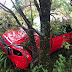Susto: carro de médico gabrielense derrapa na BR-392 em Caçapava do Sul