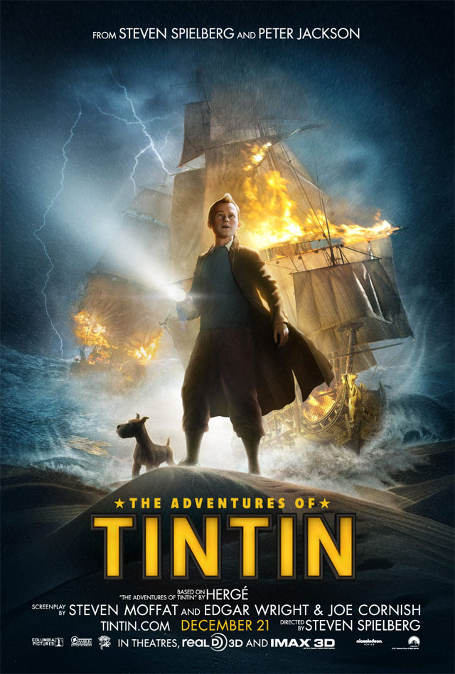 Review Filem The Adventures Of Tintin : Secret Of The Unicorn