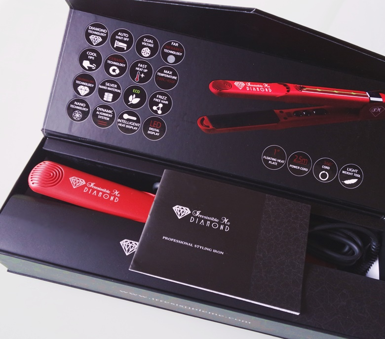 Resenha Diamond Flat Iron Review Prancha Chapinha Irresistible Me