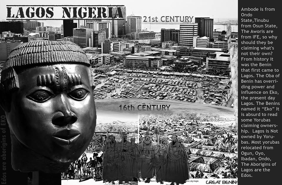 LAGOS WAS FOUNDED BY BENINS