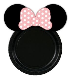 Platos de tu Fiesta de Minnie