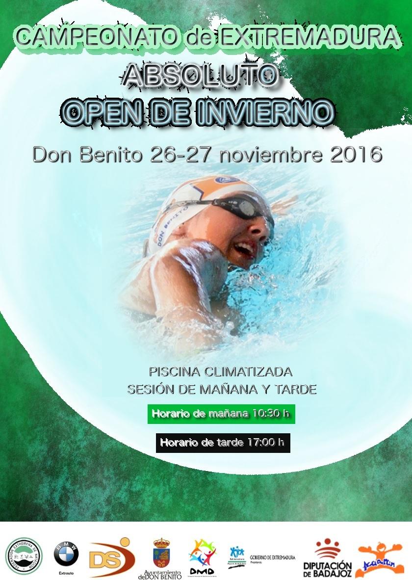 Club nataci n plasencia noviembre 2016 for Piscina don benito