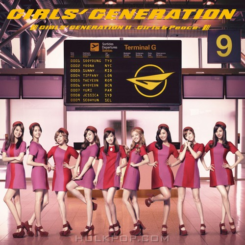 GIRLS' GENERATION – GIRLS' GENERATION Ⅱ ~Girls & Peace~ (ITUNES PLUS AAC M4A)