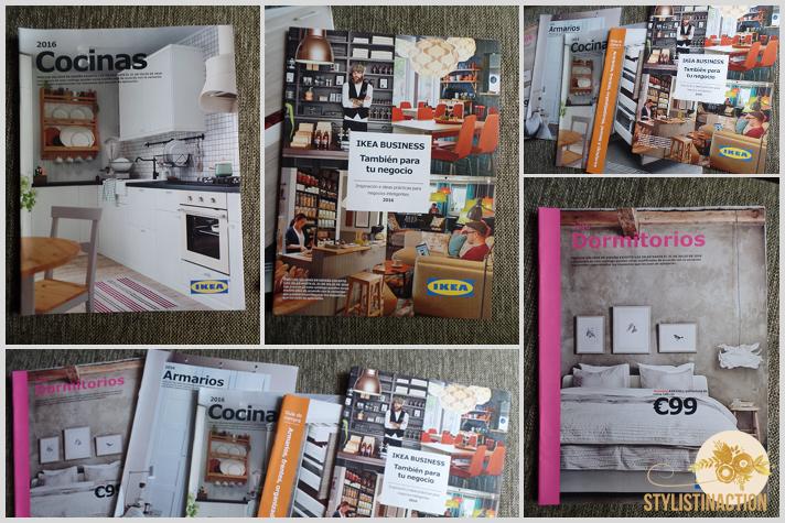 IKEA Catalogos impresos para Inspiracion por catalogo