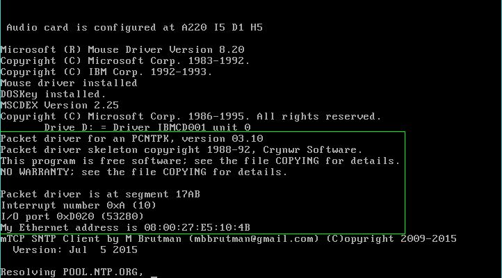 AMD PCNET DOS DRIVERS PC