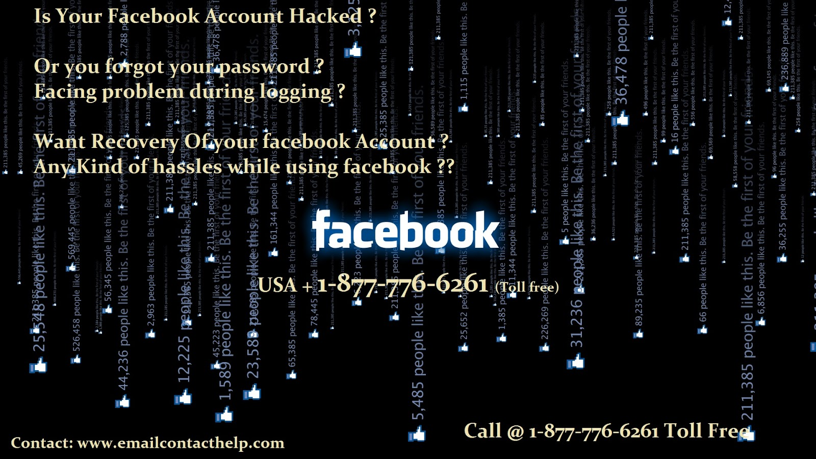 Facebook Technical 1-877-776-6261 Support Number USA