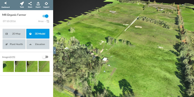 Drone contour mapping using Drone Deploy