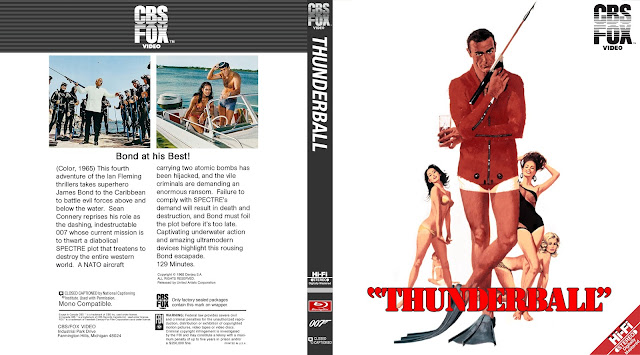 Thunderball Bluray Cover
