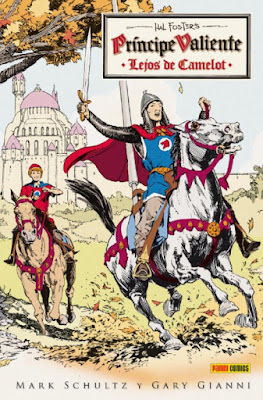 Comic Príncipe Valiente IMPRESIONES DE ÁFRICA Gianni y Schultz
