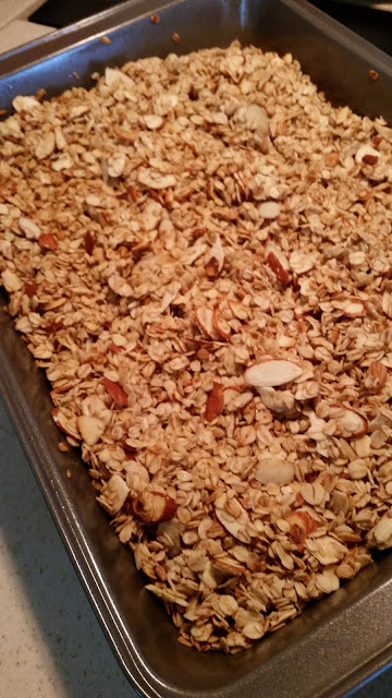 20 Minute Granola, (more or less)!