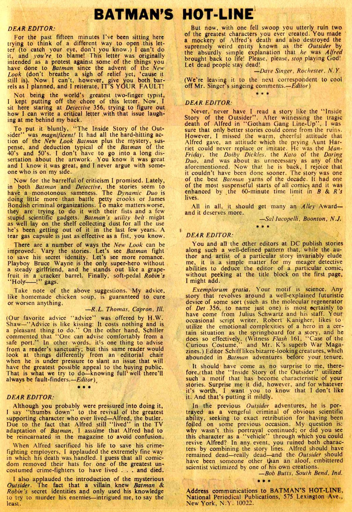 Detective Comics (1937) 360 Page 20