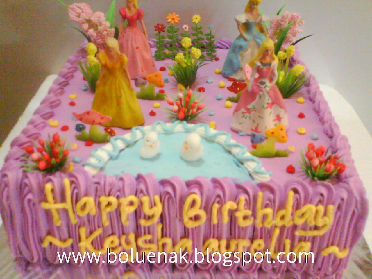 Toko Kue Bolu Enak Princess Birthday Cake