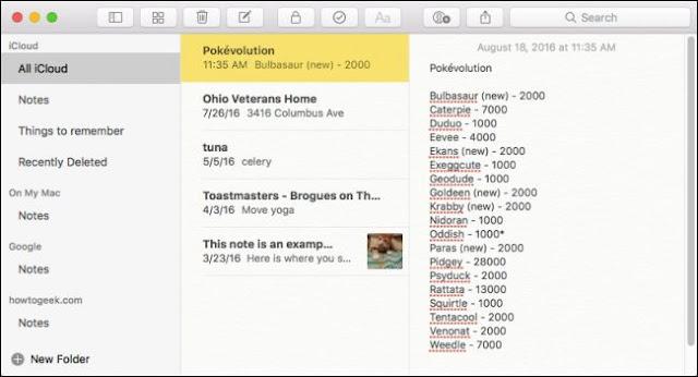Wie die Schriftgröße in macOS 'Notes-App zu erhöhen