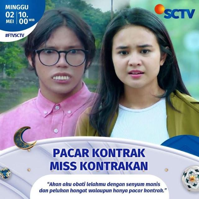 Daftar Nama Pemain FTV Pacar Kontrak Miss Kontrakan SCTV 2021 Lengkap