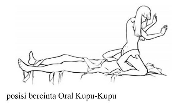 posisi seks oral, posisi oral kupu kupu, seks tahan lama, obat kuat herbal,