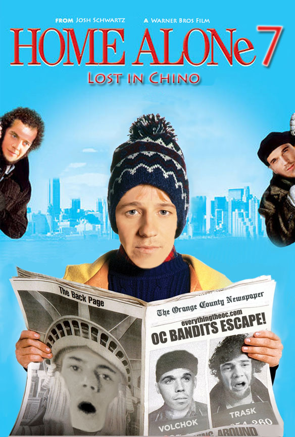 the o.c., poster, funny, home alone