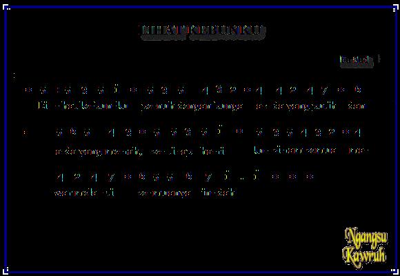 Chord Lagu Lihat Kebunku Lirik Dan Chord Lagu S Lamat S