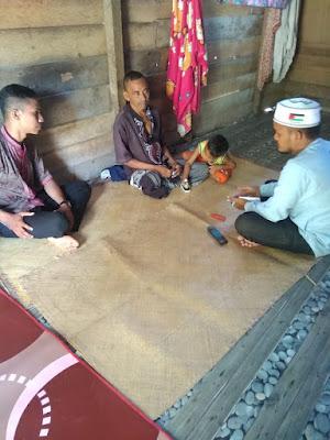 Lembaga Peduli Dhuafa kunjungi Tgk. Imum yang baru saja menjalani Amputasi Kaki