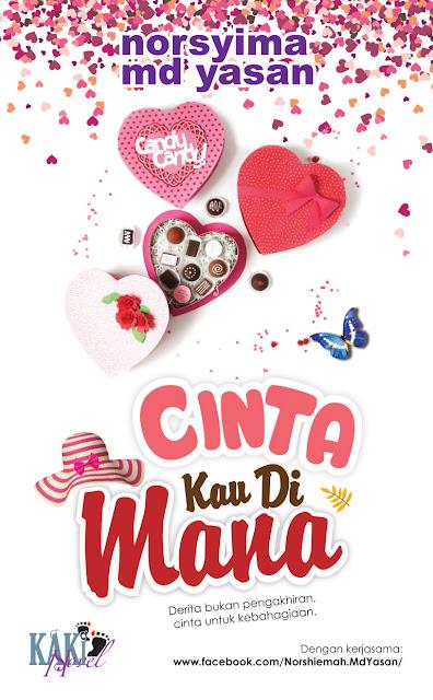Novel Cinta Kau Di Mana Karya Penulis Norsyima Md Yasan - Novel Terbaru 2017