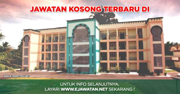 Kolej Islam Antarabangsa Sultan Ismail Petra Kias 07 Jun 2018 Jawatan Kosong 2020