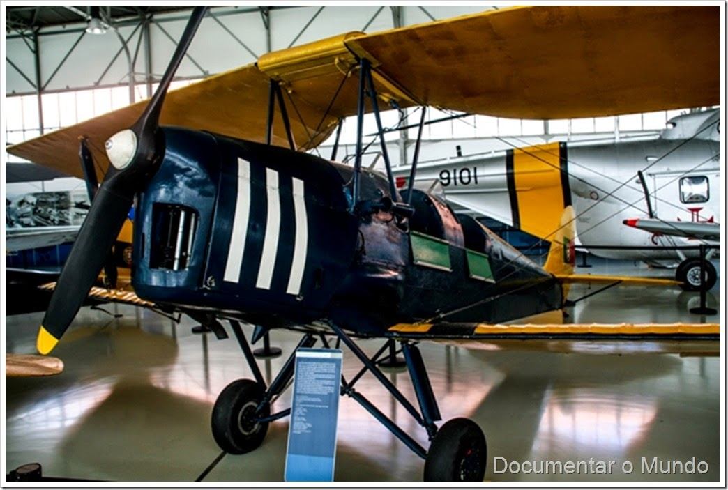 Tiger Moth; Museu do Ar; Base Aérea Nº 1; museu aeronáutico; Pêro Pinheiro; Sintra