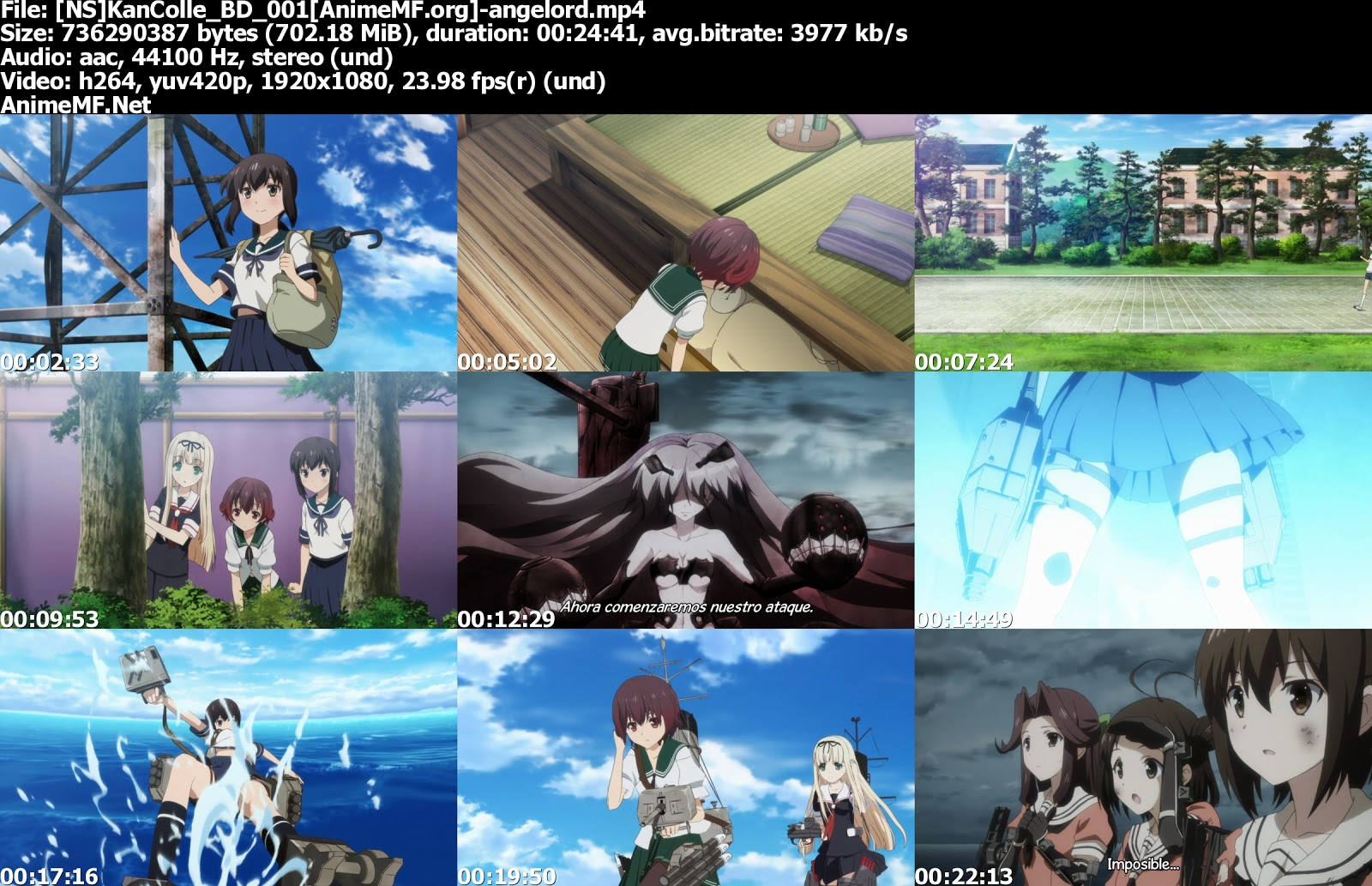 Kantai Collection Sub Esp por MEGA