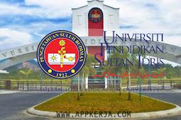 Permohonan Terbuka Jawatan Kosong di Universiti Pendidikan Sultan Idris (UPSI) - Tahun 2018