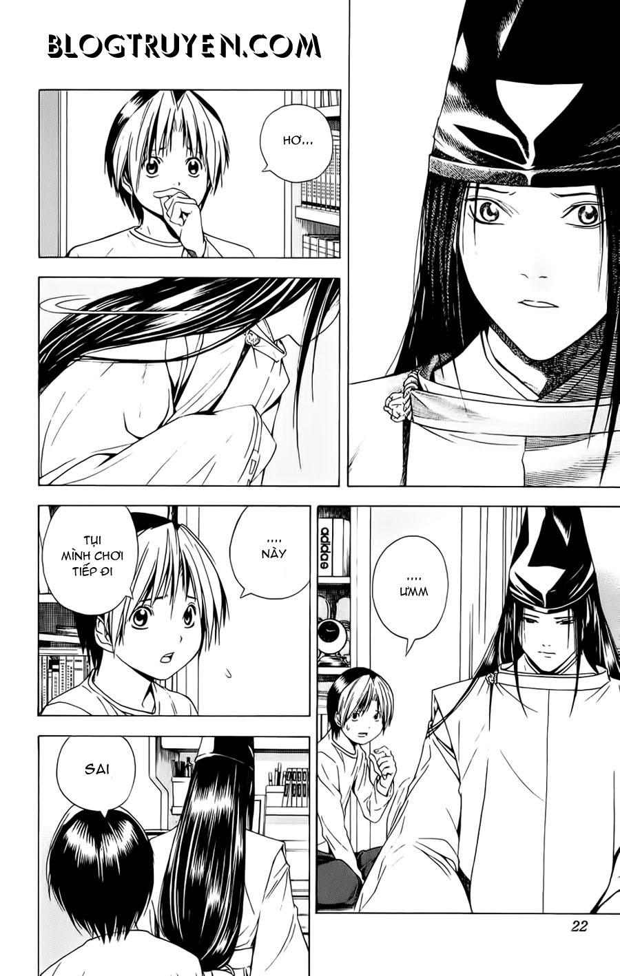 Hikaru No Go hikaru no go chap 122 trang 17