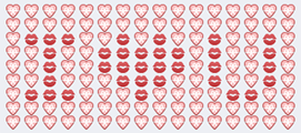 I Love You Emoji Art For Facebook