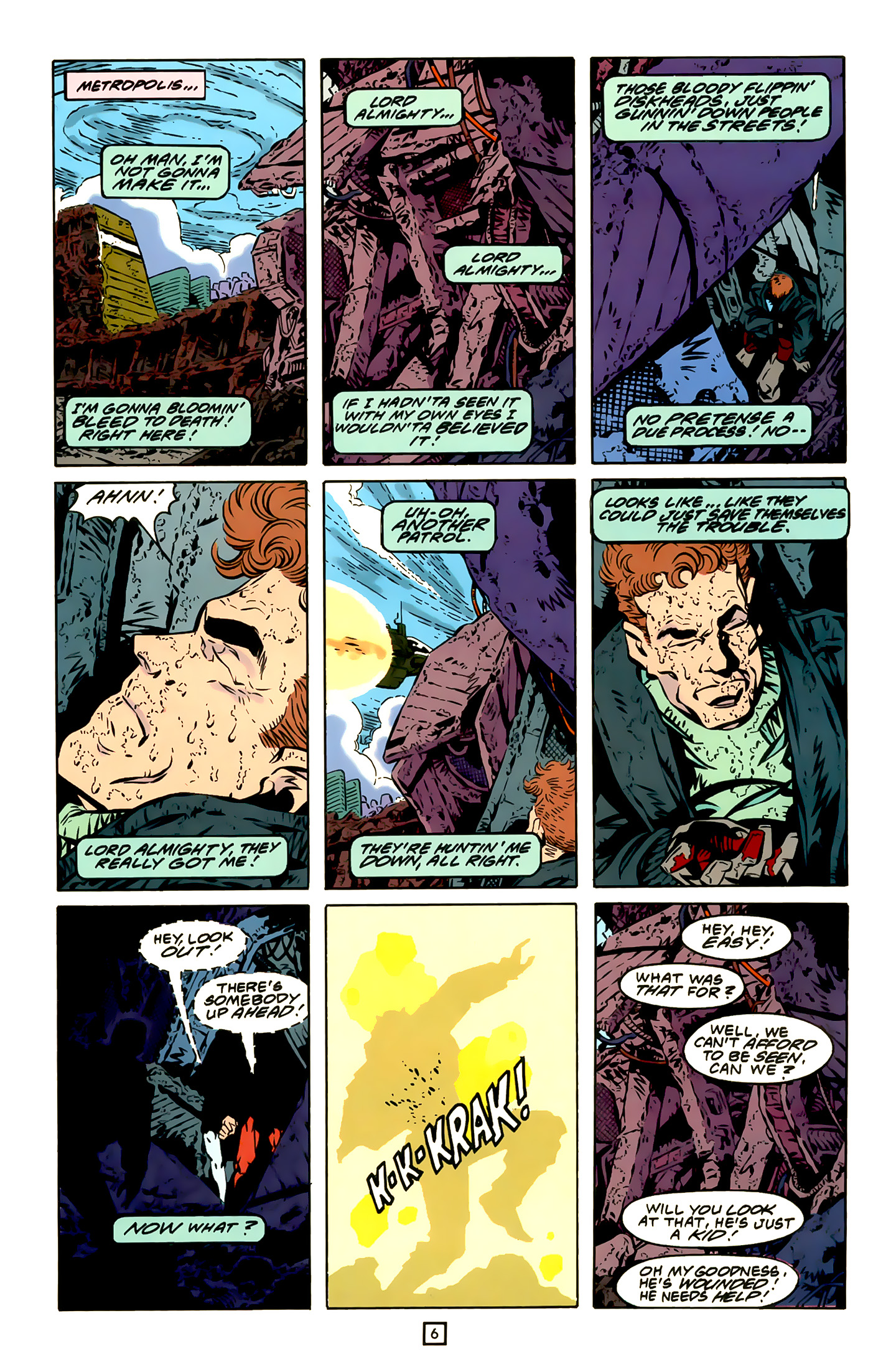 Legion of Super-Heroes (1989) 20 Page 6
