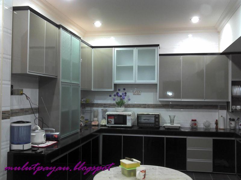 Alhmdulillah Dah Siap Terima Kasih Utk Husb Kerana Merealisasikan Impian Mp Dapatkan Sebuah Dapur Moden Yg Cantik Belum Lagi Bab Mendekor
