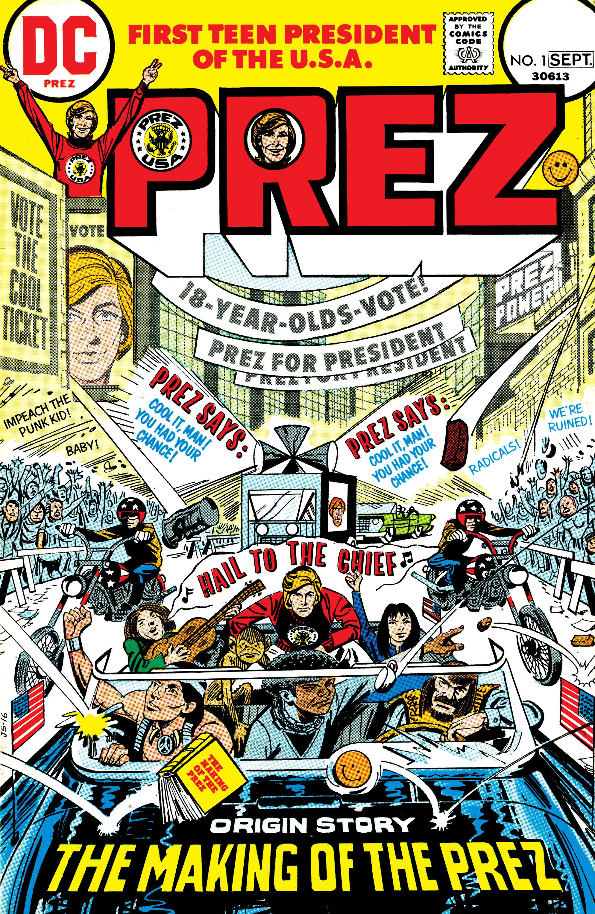 Prez (1973) 1 Page 1