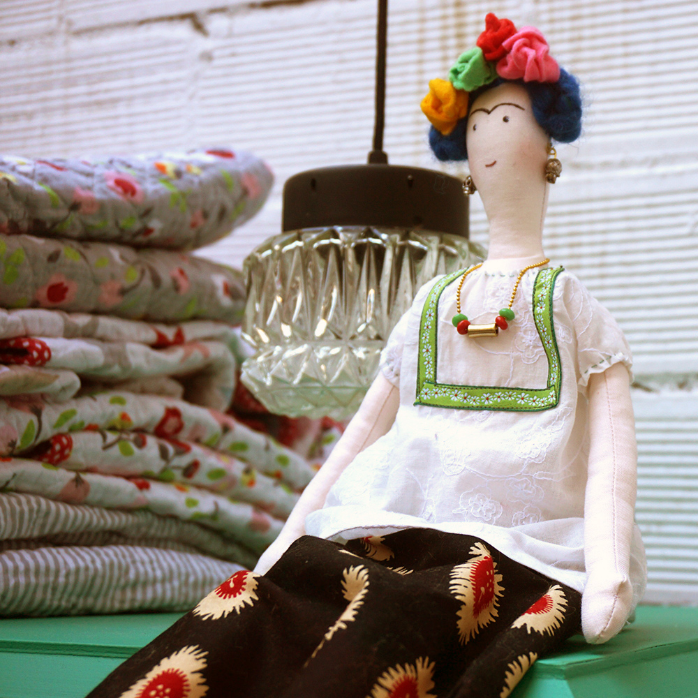 mini rincón infantil floral - Studio Alis