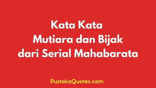 Kata Bijak Mahabarata