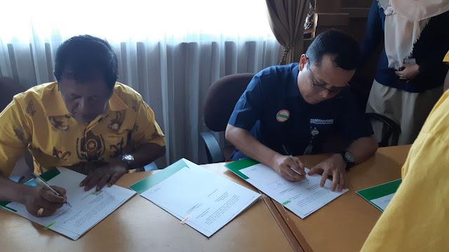 Pemkab Soppeng Tandatangani Perjanjian Kerjasama dengan BPJS Kesehatan
