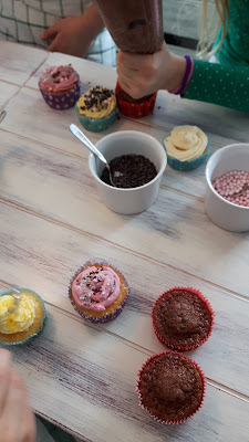 Cupcakes backen Kindergeburtstag